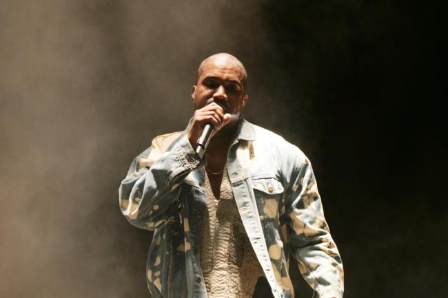 Kanye West headlining at Glastonbury
