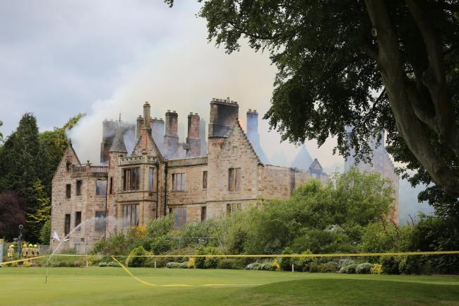 Belleisle Hotel gutted by fire
