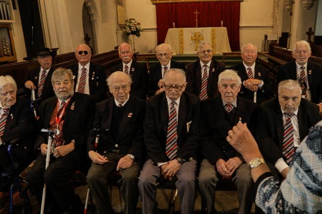 A choir of blind veterans called Vision In Song has released its first record to mark Armed Forces Day (Blind Veterans UK/ PA)