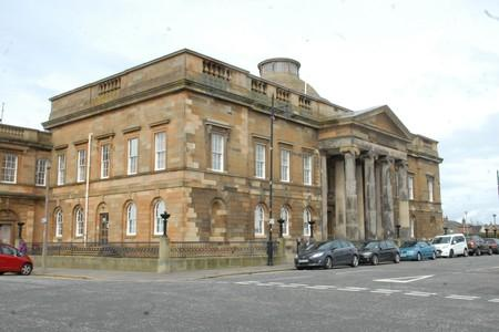 Two men appear in court in connection with alleged Girvan incident