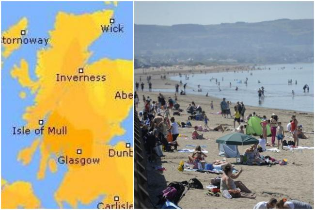 South Ayrshire to bask in sunshine this weekend