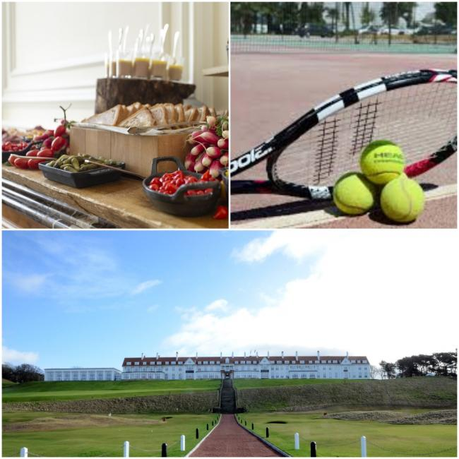 Tennis fans in for a treat at Turnberry