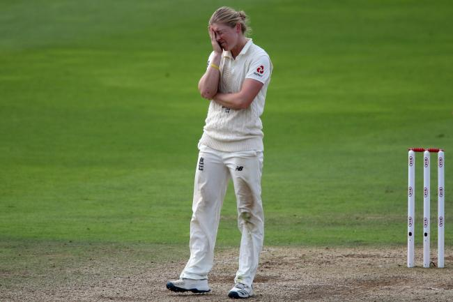 Heather Knight could not inspire England to victory over Australia in the only Test match of the Women's Ashes series.
