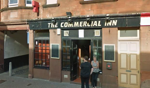 Ayr Advertiser: The Commercial Inn on Dalrymple Street, Girvan
