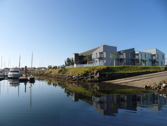 Luxury hotel which over looks Troon marina to open next year