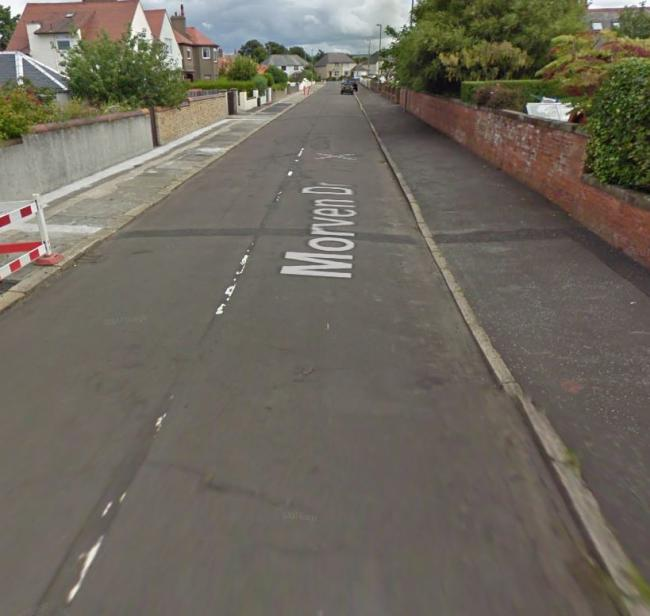 The boy is said to have exposed himself on Morven Drive Troon