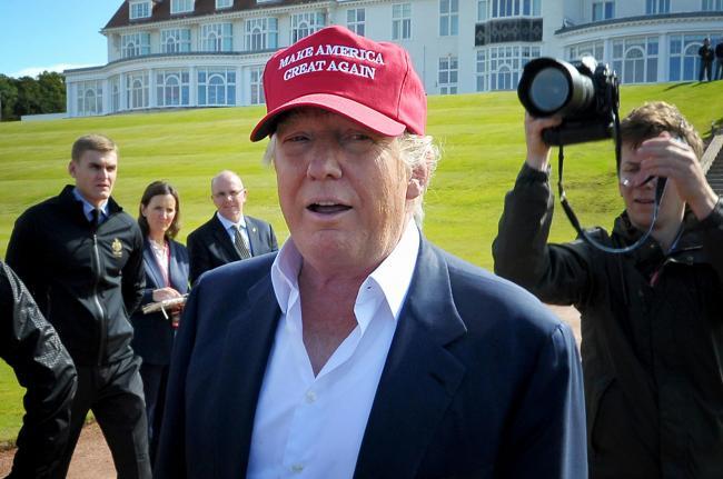 Turnberry hotelier president Trump tests positive for coronavirus