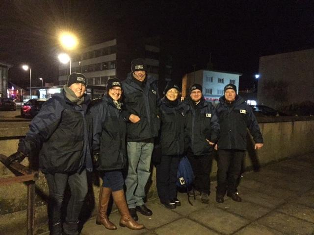 The Street pastors will be out in force again.