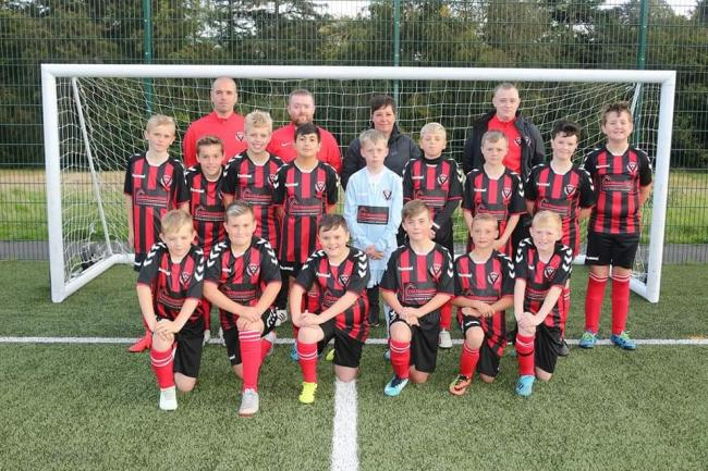 Sponsorship support is secured by Ayr youth football team, giving them boost for season