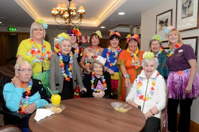 Caribbean Day at templehouse care home.
