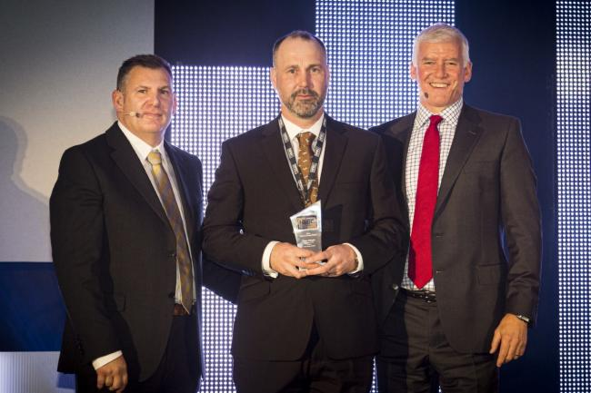 Ayr building site manager scoops award for 'exceptional' work