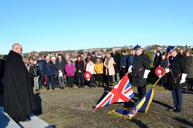 Remembrance at Maybole