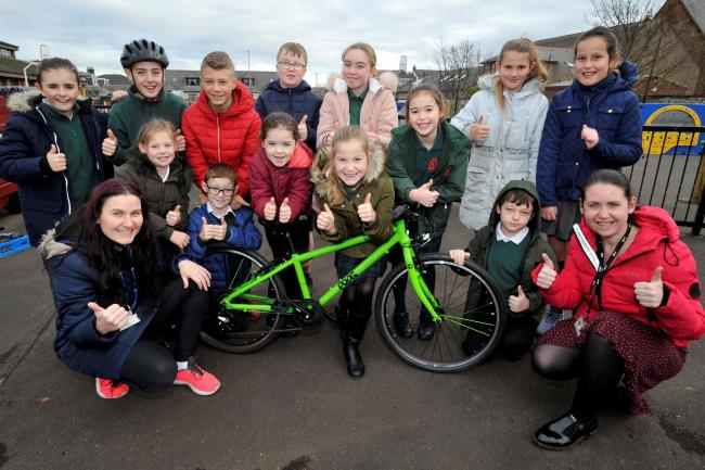A wheely great success for Troon school as they win top bike prize