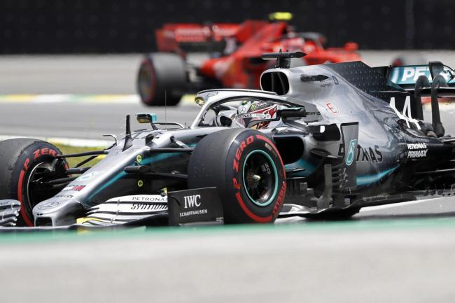 Lewis Hamilton was fastest in final practice