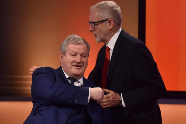 Ian Blackford and Jeremy Corbyn on The Andrew Marr Show