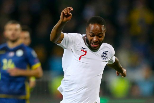 Raheem Sterling had a quiet night as he returned for England in Kosovo