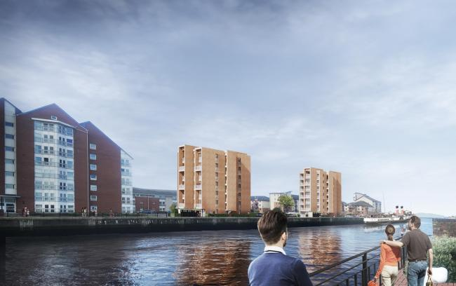 Plans submitted for flats at Ayr Harbourside