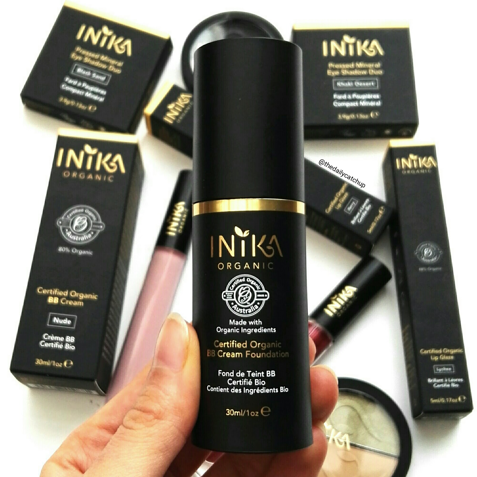 FREE VEGAN MAKE-OVER - Get party season ready with INIKA Organic