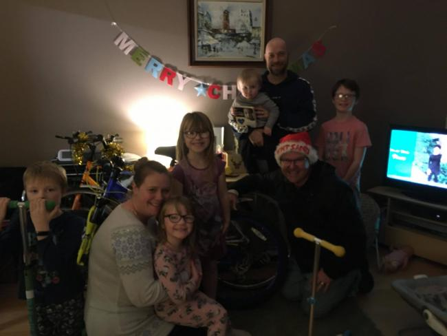 Christmas saved for Troon family