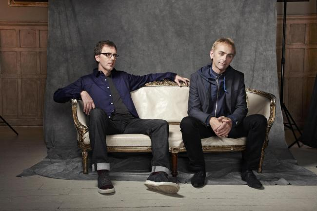 Karl Hyde (right) and Rick Smith of Underworld