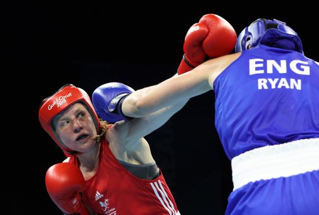 Eccles hid early boxing career from her parents