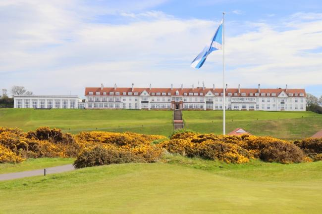 Trump Turnberry golf course is named as best in the UK