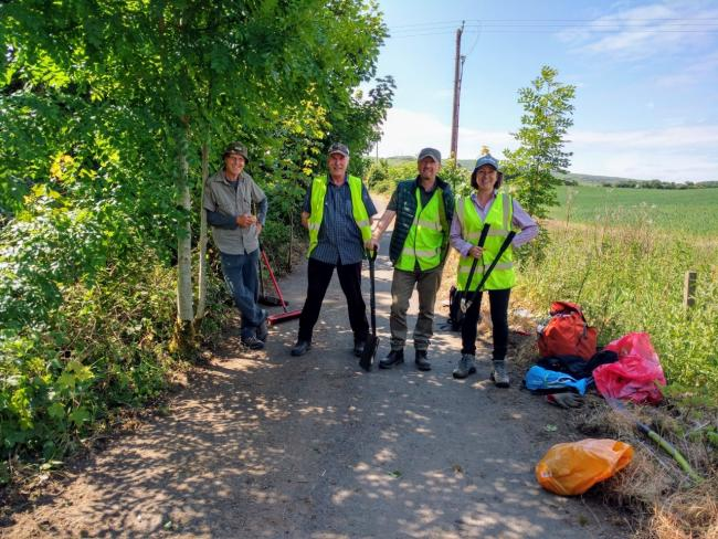 South Ayrshire Paths Initiative have big plans for the old railway route.