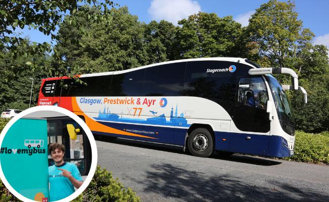 Stagecoach :  Launch of new contactless payment and new coach Burns Hertiage Centre