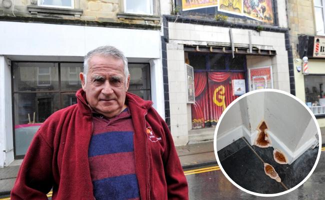 'Living hell' pensioner left homeless over dangerous damp from crumbling bingo hall