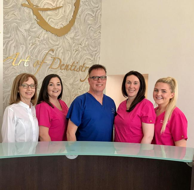 Art of Dentistry in Prestwick is back in action