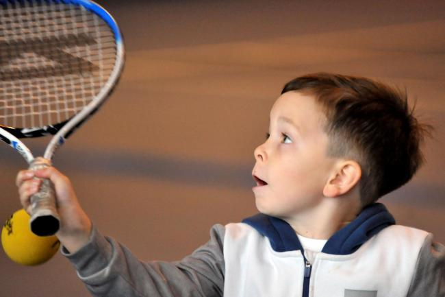 Prestwick tennis club, Kids October class..