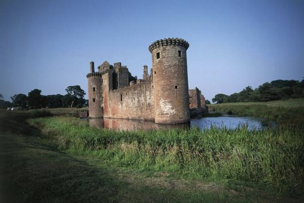 Ayr Advertiser: Caerlaverock Castle