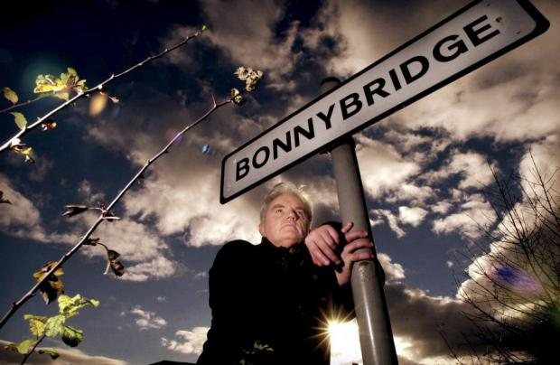 Ayr Advertiser: Billy Buchanan photographed in UFO hotspot Bonnybridge. Picture: Gordon Terris/The Herald