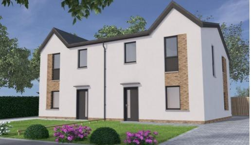 House design for Dundonald housing plan. Image: Hope Homes, The Wee House Company