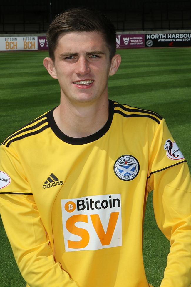 Ross Doohan at Ayr United last season.