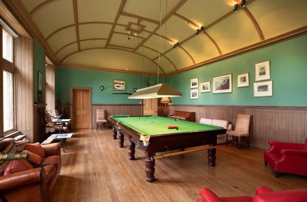 Ayr Advertiser: Billiard room. (Credit: Savills)
