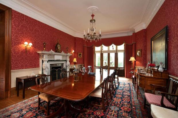 Ayr Advertiser: Dining room. (Credit: Savills)