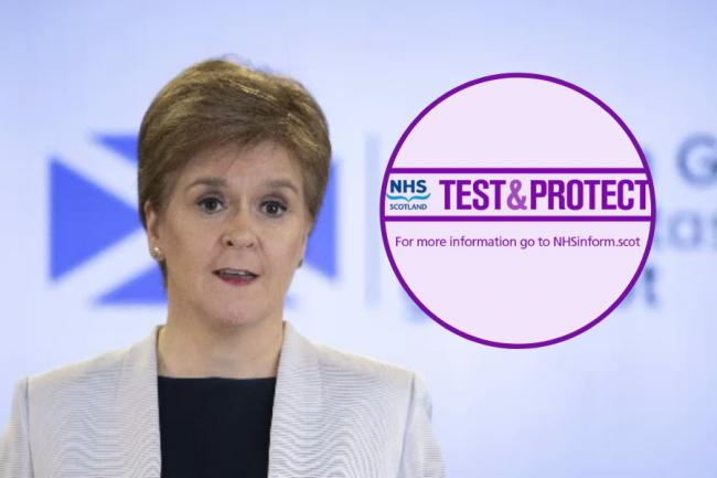 Nicola Sturgeon said there have been reports of people making calls pretending to be from Test and Protect, then asking for people's payment details