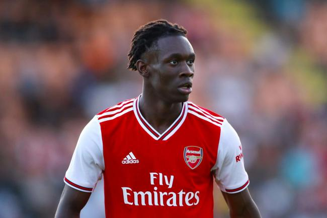 Sheffield United have made an enquiry about Arsenal's Folarin Balogun (Tim Goode/PA).