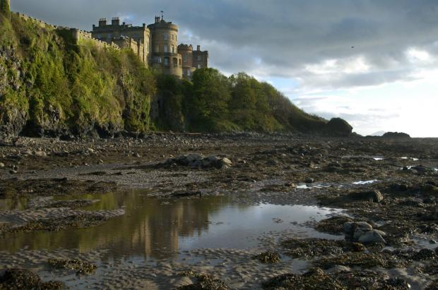 Ayr Advertiser: Rock pools at Culzean Castle in Ayrshire. Picture: Kieran Dodds/Newsquest