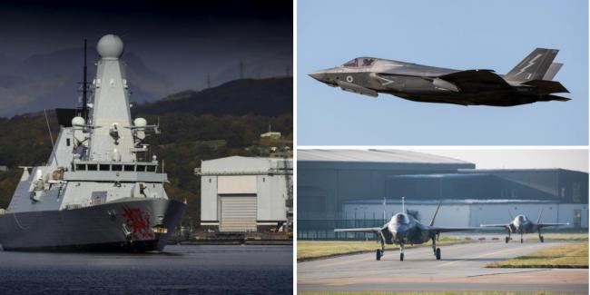 Here's why you might be seeing more military aircraft and warships around Scotland this month