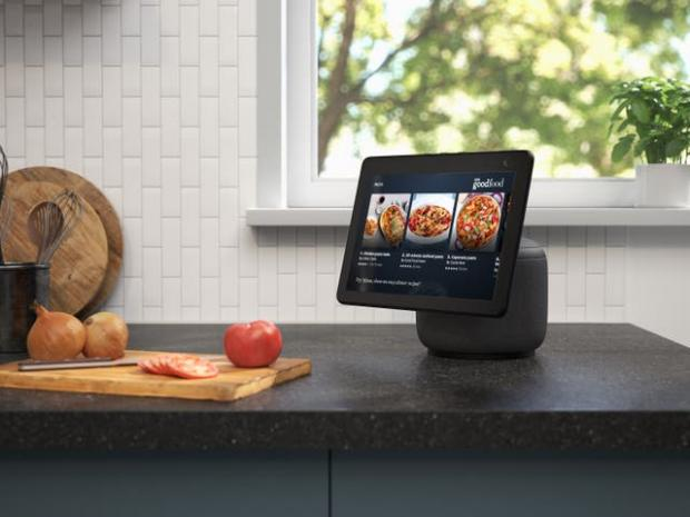Ayr Advertiser: The new Echo Show screen can swivel to follow the user. Picture: Amazon