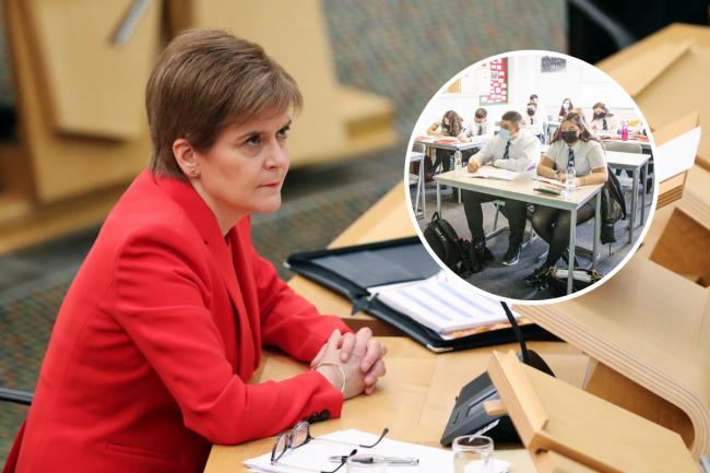The key bits from Nicola Sturgeon's schools and lockdown announcement