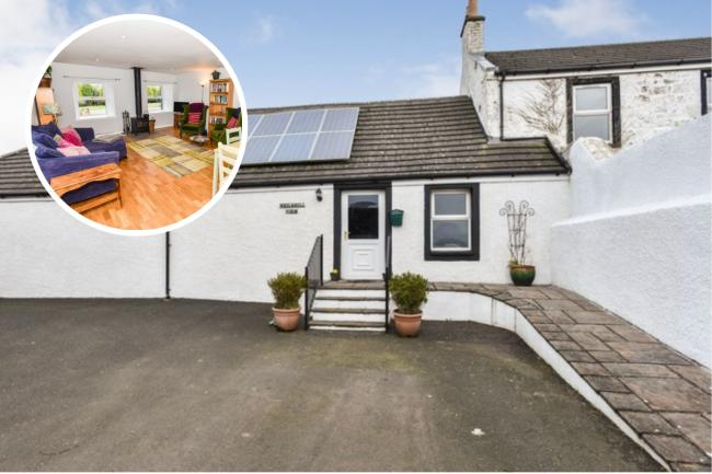 Take a look inside this modern Ayrshire property with extensive garden grounds