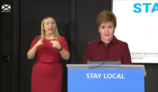Weekly testing for all and schools return: Six key bits from Nicola Sturgeon's briefing