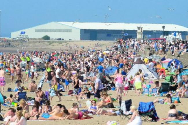 Ayrshire set to be hotter than Ibiza this weekend .
