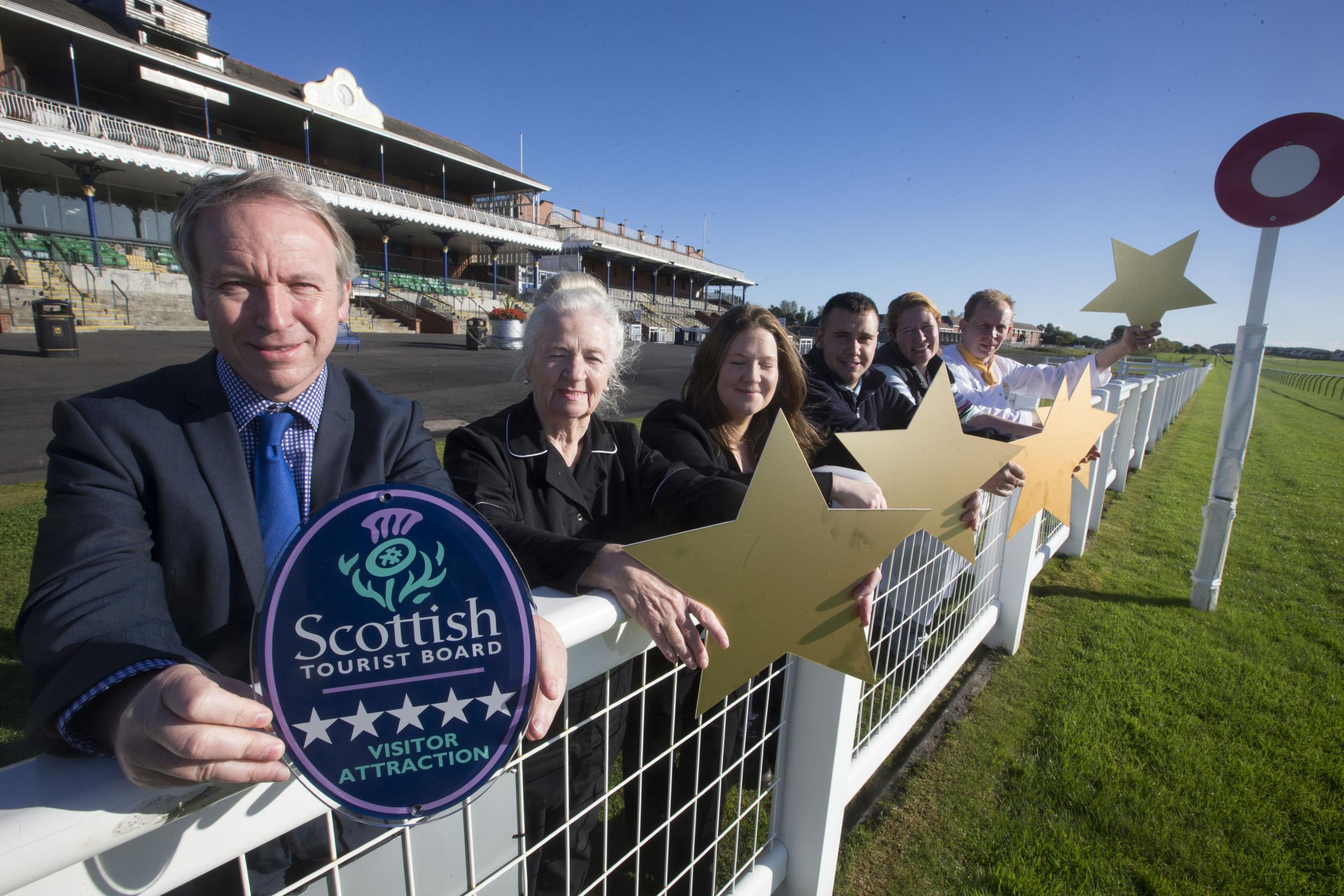 Ayr course races past the five-star post