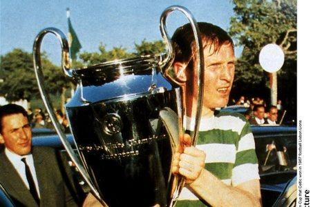 Ayr Advertiser: Celtic captain Billy McNeill with the European Cup in Lisbon in 1967.