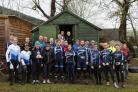 GOOD RUN: The Ayr Roads cyclists were out and about in a busy weekend