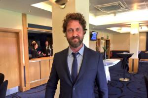Gerard Butler trolled for his appearance at Old Firm game